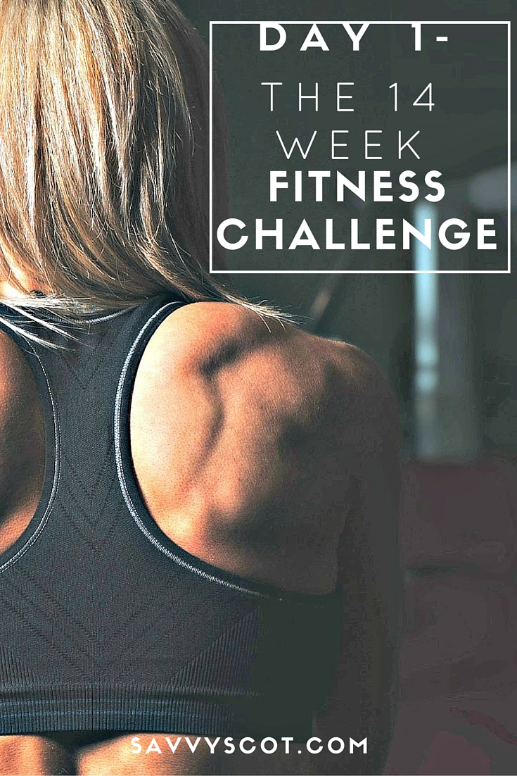 The 14 Week Fitness Challenge