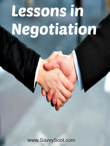 Lessons in Negotiation