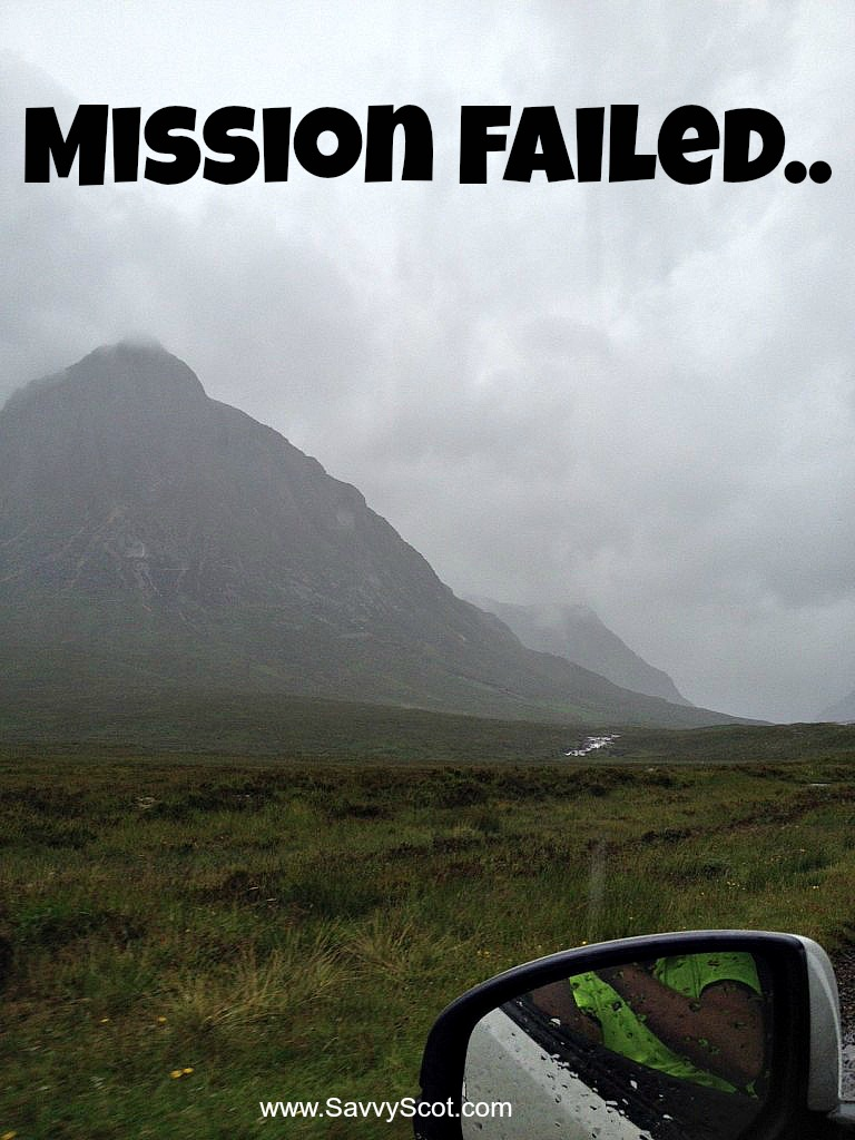 Mission Failed..