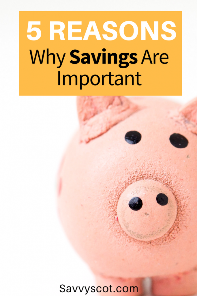 We all know how important savings are... or at least we have probably been told this throughout our lives. But why?