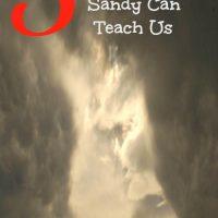 5 Things Hurricane Sandy Can Teach Us