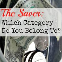 The Saver: Which Category Do You Belong To? … And a Giveaway