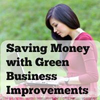 Saving Money with Green Business Improvements