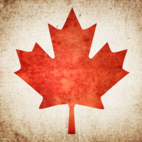 Cool Canadian Flag