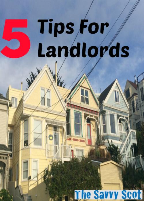 5 Tips For Landlords