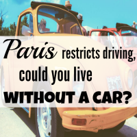 Paris restricts driving, could you live without a car?
