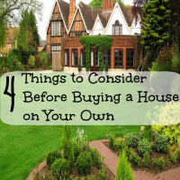 4 things to consider before buying a house on your own
