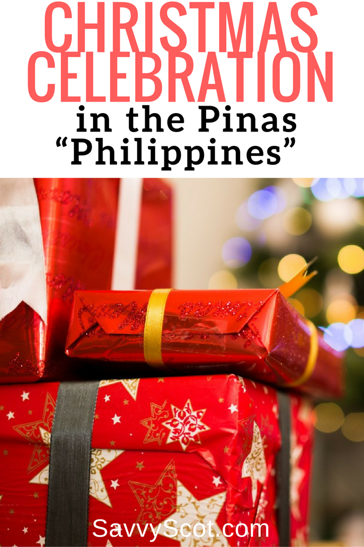 "Christmas Celebration in the Pinas ""Philippines"". The Philippines is well known for having the world's longest Christmas celebration."