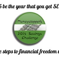 Moneystepper's 2015 Saving Challenge