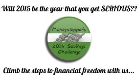 Moneystepper 2015 Saving Challenge