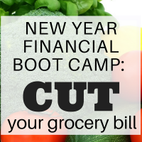 New year financial boot camp: Cut your grocery bill