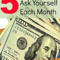 Five Questions to Ask Yourself Each Month