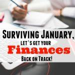 get your finances back on track