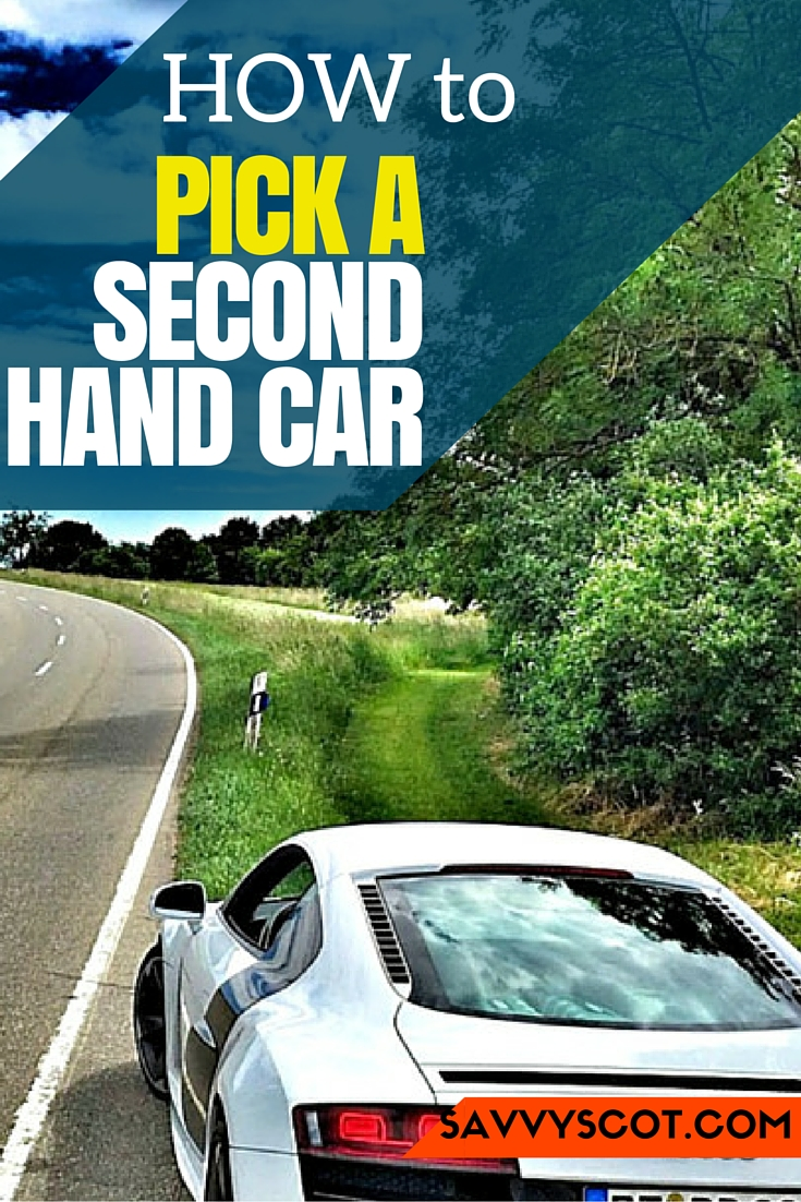 pick a second hand car