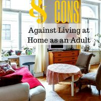 Reasons for and Against Living at Home as an Adult