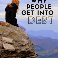The Reasons Why People Get into Debt