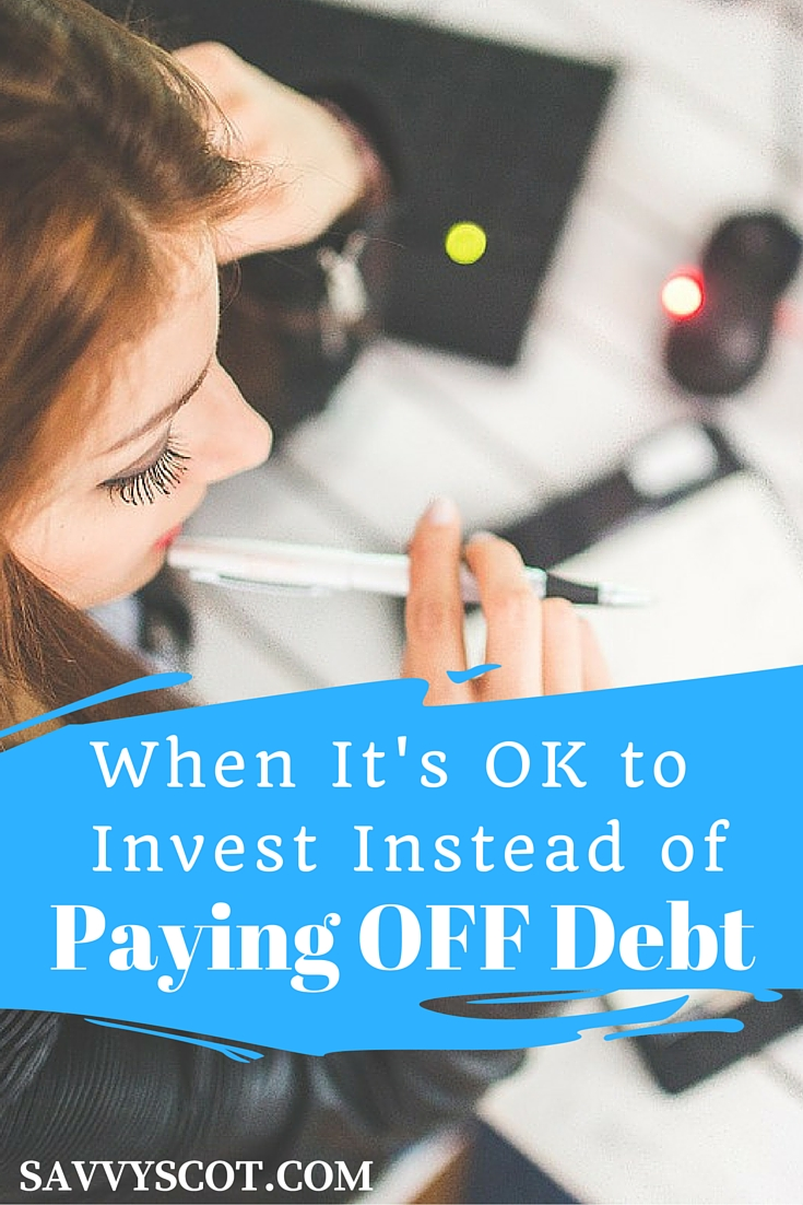 Paying off debt is good, but you can get yourself in financial trouble if you put every penny toward debt instead of saving for emergencies or investing for the future.