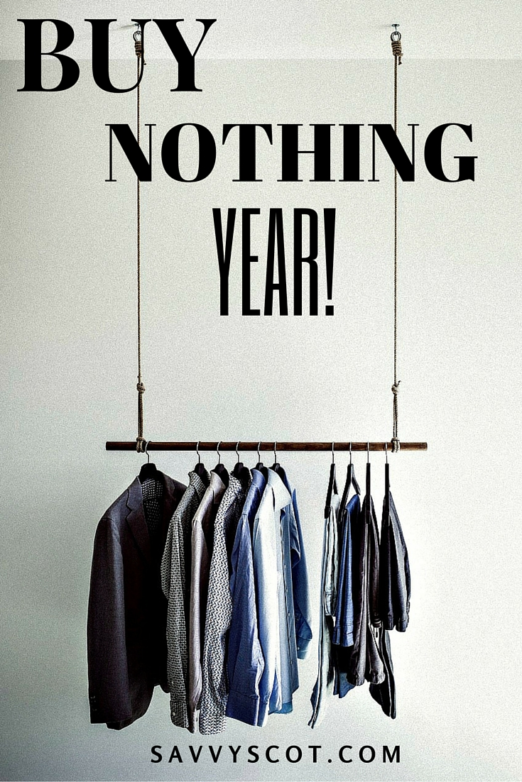 The following blog post is about how you and I can enjoy a Buy Nothing Year. It doesn't matter when you start. It's just about making it 365 days without buying anything in excess.