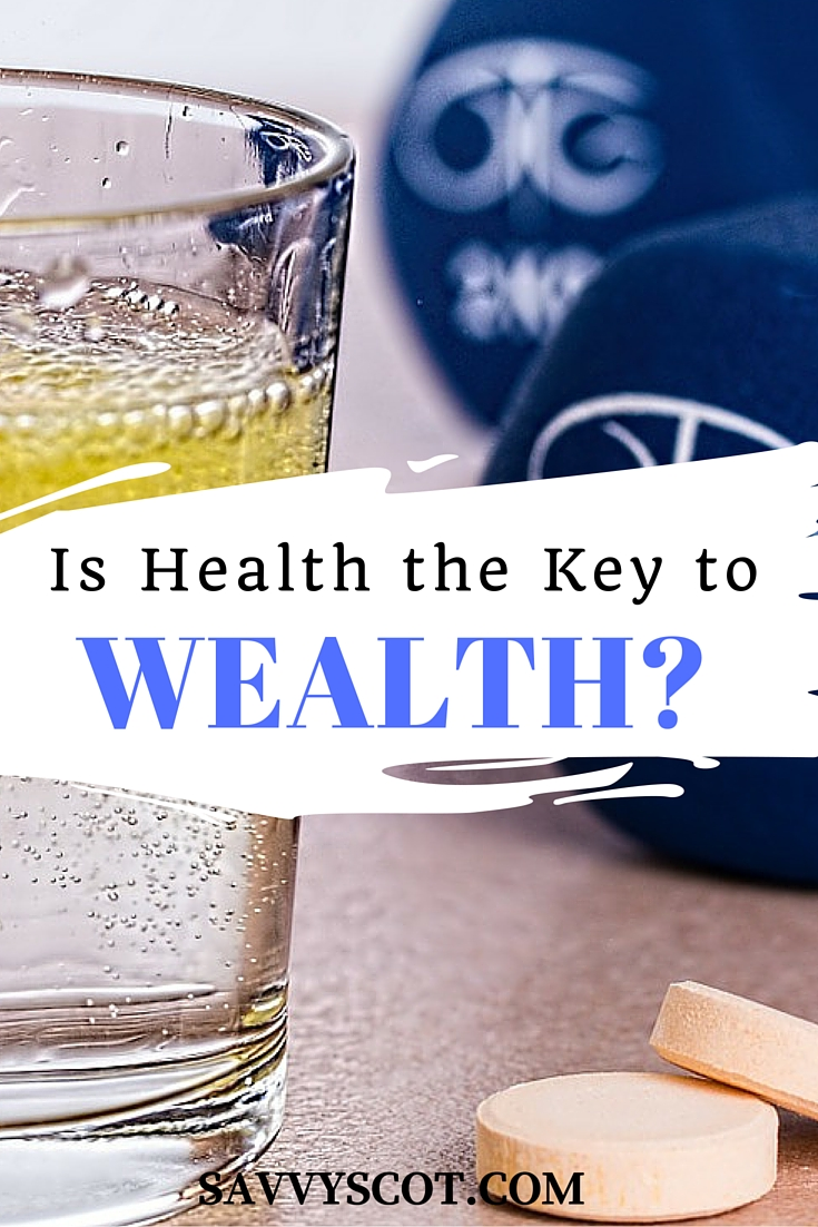 what is the relationship between health and personal wealth
