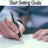 "Don't Live an ""Auto-Pilot"" Life; Start Setting Goals"
