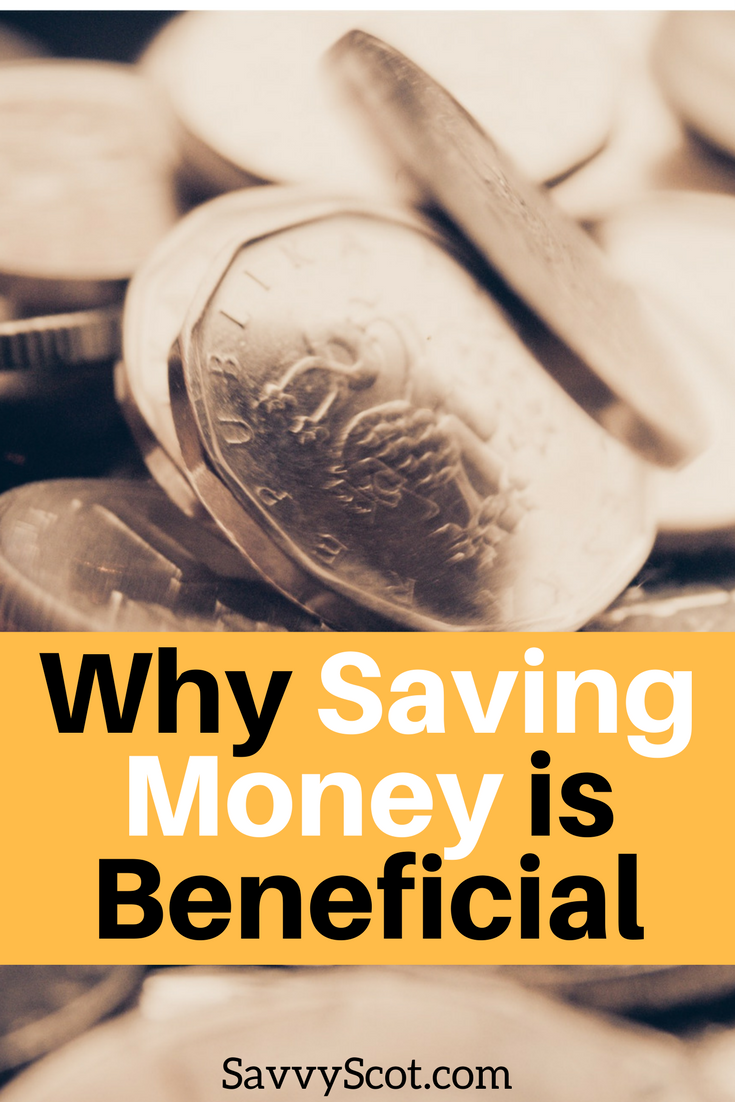 While saving money isn't always the easiest thing to do, it is beneficial. Those with no savings are encouraged to start saving now.