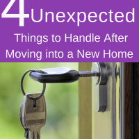 4 Unexpected Things to Handle After Moving into a New Home