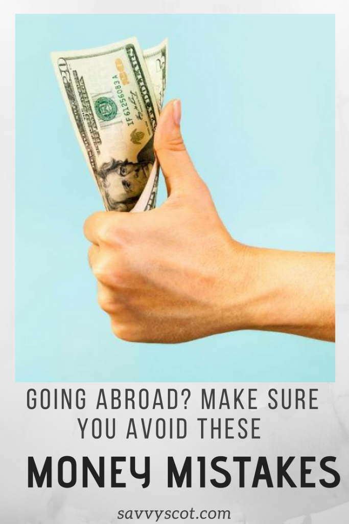 Going abroad? Make sure you avoid these money mistakes. This post was written in collaboration with CompareHolidayMoney.com.Having travelled a lot, and all over the world, I can safely say I have done pretty much every mistake in the book when it comes to currency and travel money.Here are a few of them and how I do things now. #moneymistakes