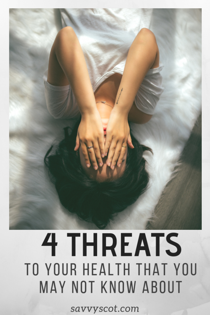 4 Threats to Your Health that You May Not Know About. Here are four diseases to consider today so you can work to prevent them tomorrow.