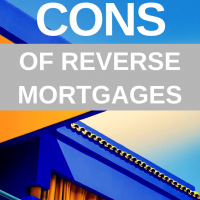 Pros & Cons of Reverse Mortgages. Retirement is expensive. People don't want to retire in squalor. They want to maintain a comfortable, easy lifestyle. To do that, you need to make sure that you have enough money to afford everything that you want. #mortgage #retirement #mortgagetips