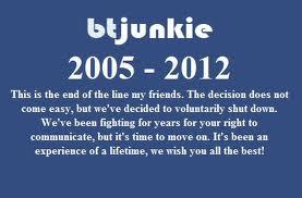 BTJunkie Closed
