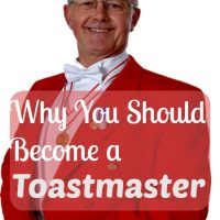 Why You Should Become a Toastmaster
