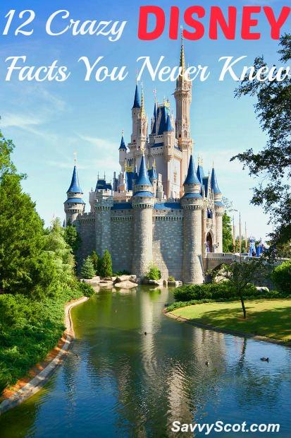 12 Crazy Disney Facts