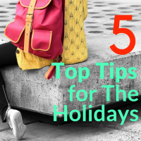 Taking a holiday is an important life balance. Whether you're taking a staycation or getting on a plane to the other side of the world having some relaxation and/or adventure away from home is healthy. However, you need to make sure that you are ready for what's coming. Let's take a look at 5 top tips for the holidays.