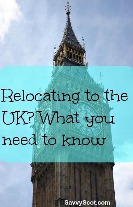 Relocating to the UK