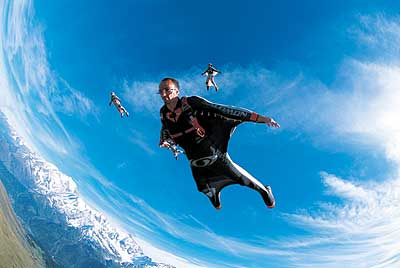 extreme sports adrenaline junkie activities base jumping cheap addict why drug suit