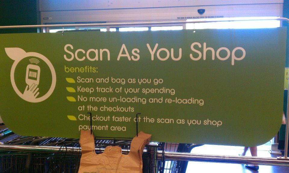 scan as you shop