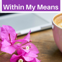 How I Live Within My Means. Are you living within your means? Here are my good tips on how I live within my means!