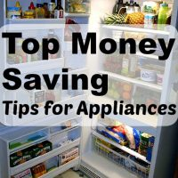 Top Money Saving Tips for Appliances