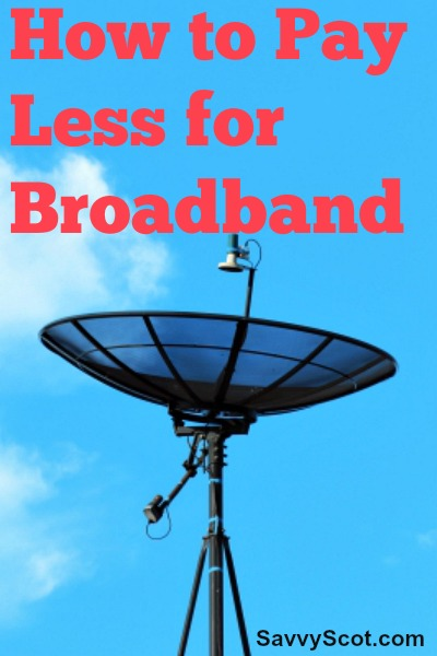 Pay Less for Broadband