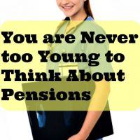 You are Never too Young to Think About Pensions
