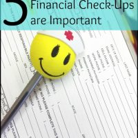 Financial Check-Ups are Important