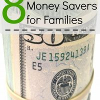 Money Savers for Families