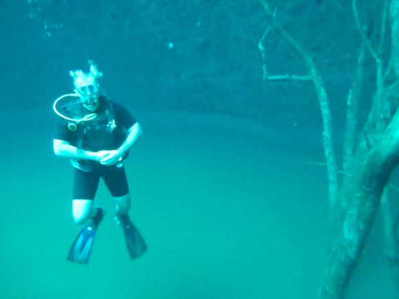 Angelita Cenote
