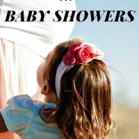 Saving Money at Baby Showers