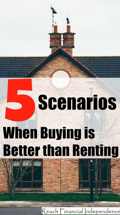 5 Scenarios When Buying is Better than Renting