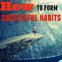 How to form successful habits