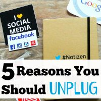 5 Reasons you Should Unplug