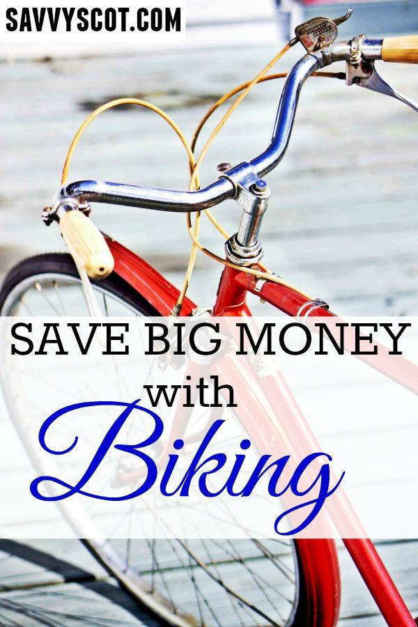 Save Money With Biking
