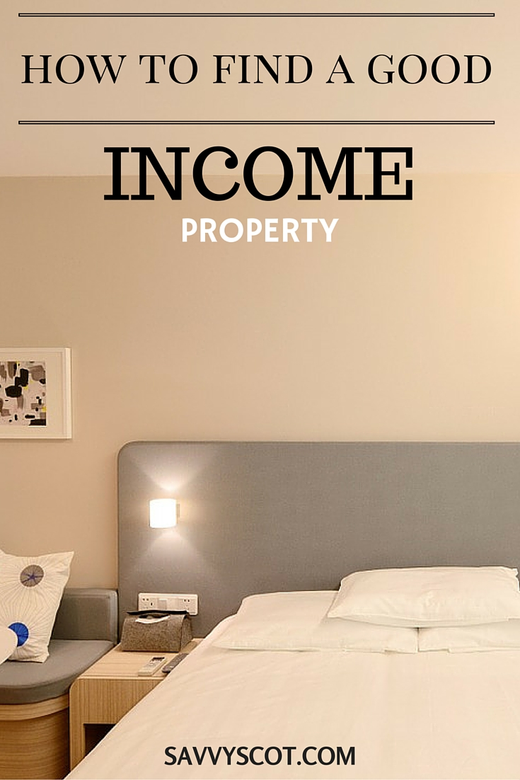 Find a Good Income Property