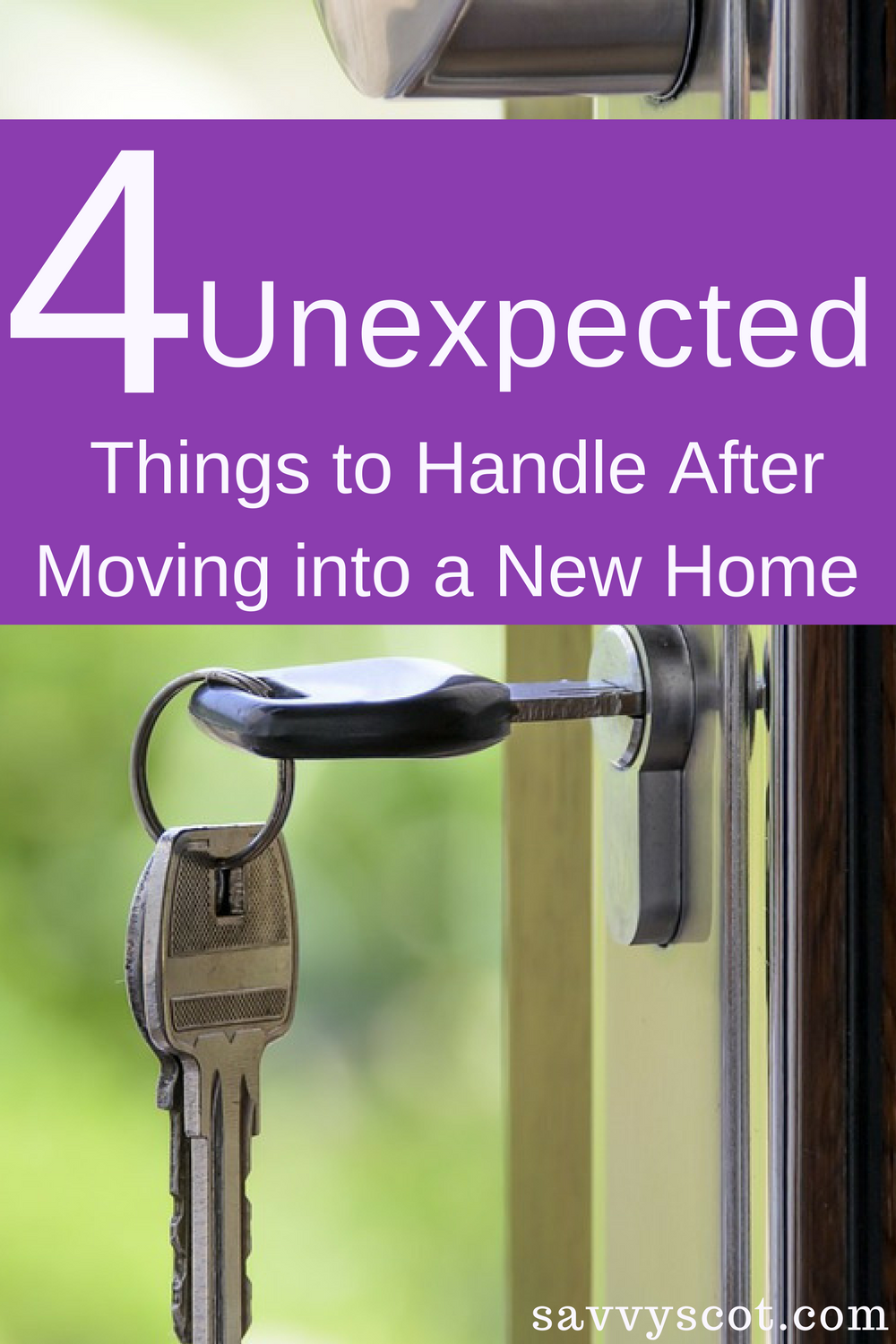 4 unexpected things to handle after moving into a new home - Things to do when moving into a new house ...